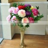 wedding bouquet wholesale artificial flower, purple silk flowers wedding bouquets