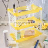PP 23.5*13.8*28 Household goods plastic rack/grocery rack/storage rack
