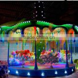 Attractive Playground Ride Equipments Indoor/Outdoor Sea World Fariy Tale World Carousel for sale