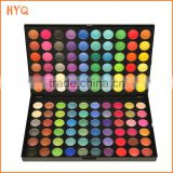 Good selling Private label cosmetics OEM accept matte color eyeshadow palette 120 colors