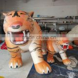 cheap Custom Inflatable model, inflatable tiger cartoon, advertising inflatable balloon