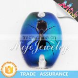2015 Top Sale Mens Jewelry Mood Glass Pendant for Bracelets                                                                         Quality Choice