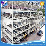 multi-level car storage car parking lift system automatic car parking lift auto parking equipment