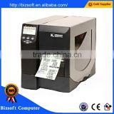 Bizsoft Hot sales! Zebra ZM400 (300dpi) adhesive barcode label making machine / high performance industrial sticker printer
