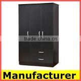 wholesale cheap modern melamine 3 door wooden wardrobe design                                                                         Quality Choice