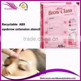 Wholesale Make up tools 3 types per pack Eyebrow Template eyebrow stencil                                                                                                         Supplier's Choice