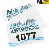 Custom Outdoor Skiing/Biking Events/Triathlons/Marathon Original Tyvek Race Numbers Bibs                                                                         Quality Choice