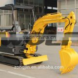 china digging machine, 2.2 ton mini excavator for sale China