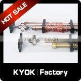 KYOK PVC packing wrought iron curtain rod set,window decorative curtain accessories wholesale