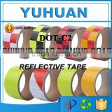 Guarantee 100% 5cmx50Y Car Body Sticker Vinyl Wrap reflective tape adhesive with free sampels