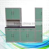 wholesale metal drawer side slide kitchen cabinet/China Good Quality kitchen cabinets dubai metal furniture