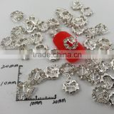 2015 rhinestone butterfly wreath nail art design supplies accessories finger nail jewelry