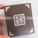 High Quality Custom Gift Box / Paper Claded Elegant Gift Box / Plastic Gift Box for Metal Coin