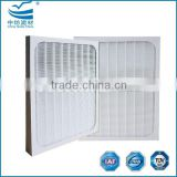 Washable compound PTFE HEPA pleated filter