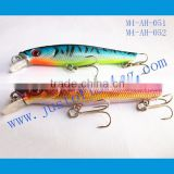 9+ years Wholesaler & OEM Manufacturer ,Hirun fishing tackle,vivid swim action crank bait hard lures M4-AH-051.052