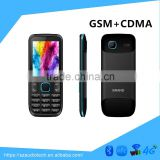 Made in China 2.4 inch CDMA GSM dual band mobile phones