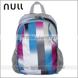 China manufacturer custom size casual style light weight material nylon white canvas in the backpack