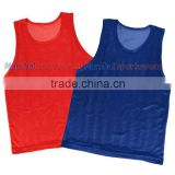 New style sports vest red advertising shirt cheap blank soccer bibs