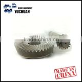 Strict quality control small bevel gear/spiral bevel gear/forging gear