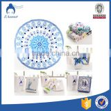 velour printing cotton round beach towels with tassels                                                                                                         Supplier's Choice