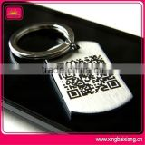 Hot sell high quality custom QR id dog tag with logo