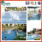 2014 summer waterpark fountain tunnel recreational facilities stainless steel water park equipment