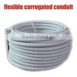 20mm/25mm PVC flexible corrugated conduit/flexible corrugated electrical conduit pipes