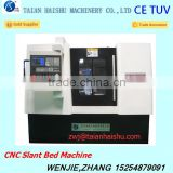 CNC300D slant bed cnc machine for sale in dubai with milling head