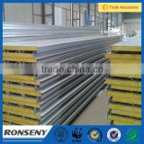 Polyurethane Sandwich Panels Type and Metal Panel Material interior wall panels/EPS/PU/glass wool