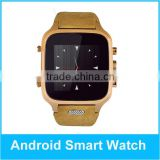 cheapest hot sell Bluetooth Factory Sell price of android mtk 6572 wifi smart watch phone