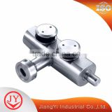Luxury Quality Inox Door Hardware Set Glass Fittings For Tempered Glass                                                                         Quality Choice