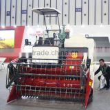 High quality New 4LZ-4.0 Rice wheat Combine Harvester for sale                                                                         Quality Choice