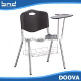 Plastic chair with writing board school chair                                                                         Quality Choice