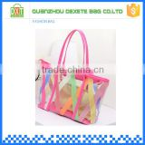 pvc material transparent custom bag in bag handbag organizer                                                                         Quality Choice
