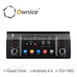 Ownice Quad core android 4.4 car audio player for BMW E39 X5 M53 support TV OBD wifi DAB mirror link canbus