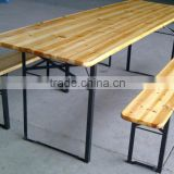 Outdoor Wood beer table sets, beer table and bench