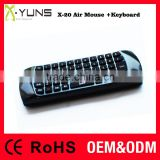 2.4G wifi Wireless Air Mouse + Keyboard For Android TV Box