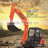 Modern and elegant in fashion best-selling small excavator car trailer DS-55 5tons