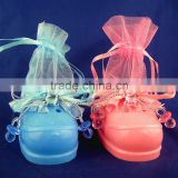 China Alibaba Hot-selling Customized Fashion Baby Shoe Candy Bag For Guests ,Baby Shower Gifts Bag