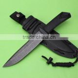OEM AUS-10A tactical fixed blade knife with G10 handle UD50079