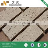 clay bricks architectural facade terracotta wall siding dry hanging system exterior wall terracotta tiles facade ceramic panel