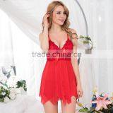 New arrival dropshipping women sex two pieces pajamas sleepwear