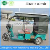 solar tricycle 48V800W 3 Wheel Electric Passenger Auto Taxi Rickshaw