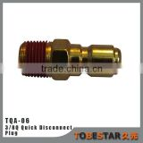 High quality brass hydraulic threading 3/8 quick disconnect coupling for high pressure washer