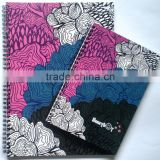 2015 Hot Sale Leather Ring Binder Diary Notebook