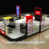 Hot sale cell phone accessories display showcase for retail