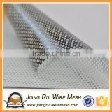 low carbon steel perforated metal plate mesh/ galvanized plate 2mm perforated matel mesh