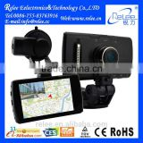 2015 Touch Screen Full HD 1080P car android gps navigation black box camera