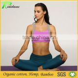 High quality custom spandex bamboo sexy yoga camisole vest