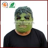 Halloween Cosplay Party Props Costume Fancy Dress Full Head Hulk Super Hero Latex Mask